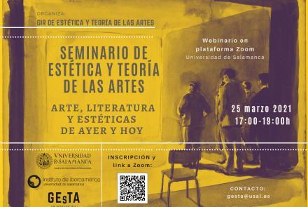 Seminario arte, literatura y estéticas de ayer y hoy